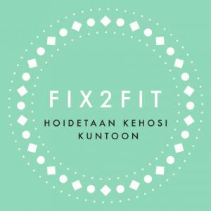 Fix2Fit logo Hoidetaan kehosi kuntoon